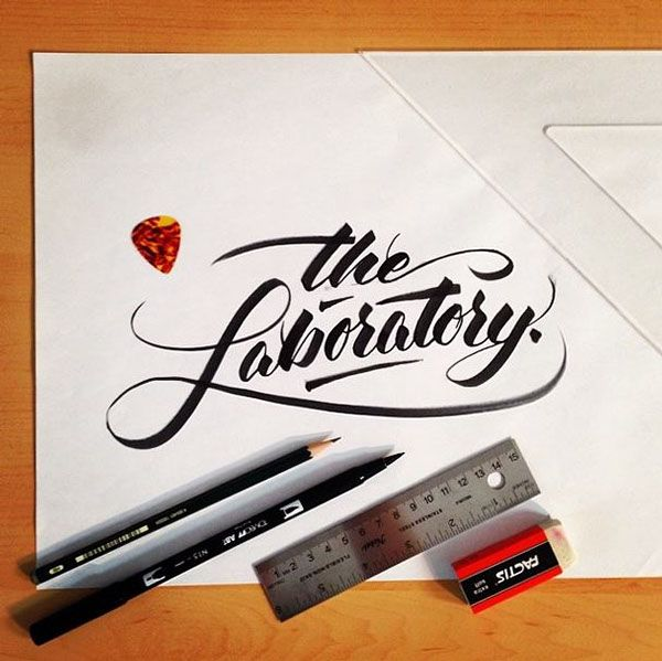 25 Stunning Hand Lettering Calligraphy Designs