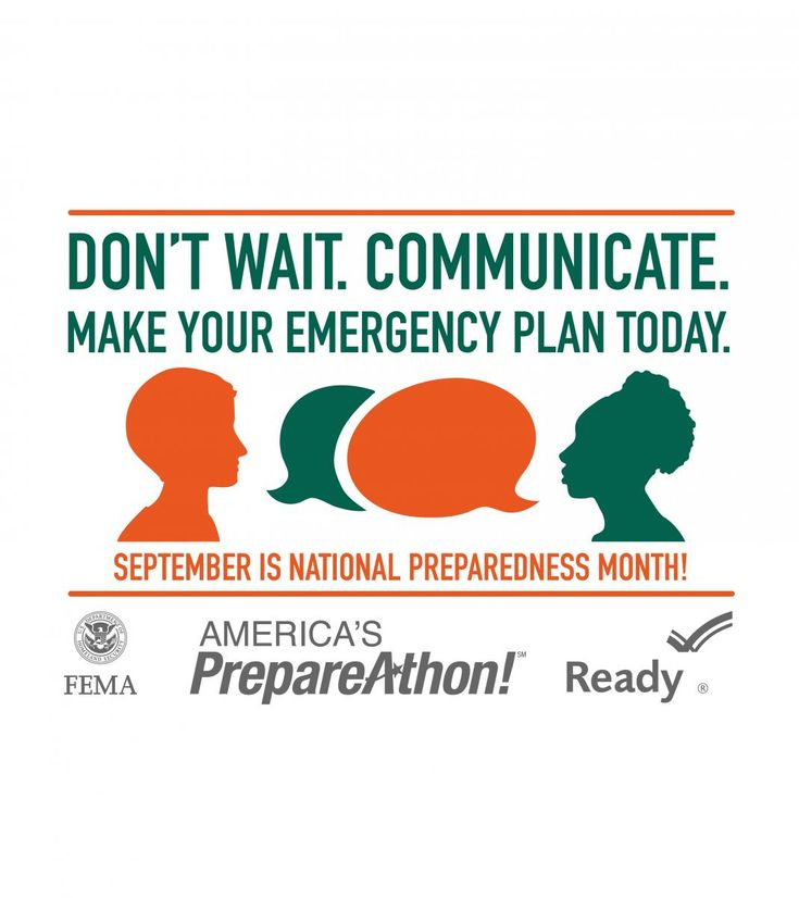 2015 National Preparedness Month (NPM) | Ready.gov