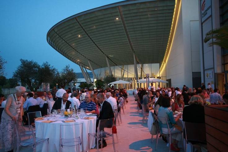 la cena per i buyers di BTC al Palacongressi di Rimini, giugno 2012