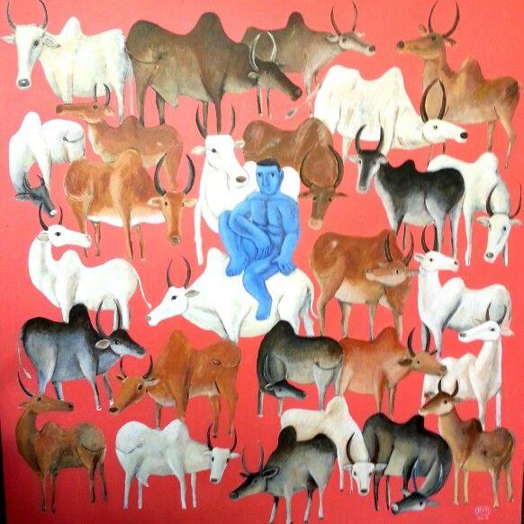 Krishna #art #painting #kittinarod