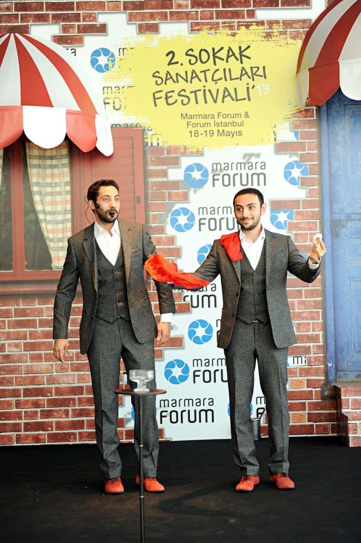 Dünyanın en yetenekli sokak sanatçıları Marmara Forum'da buluştu