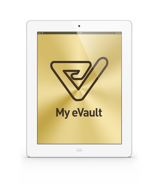 My eVault - coming soon for iPad in June 2013 (native app)