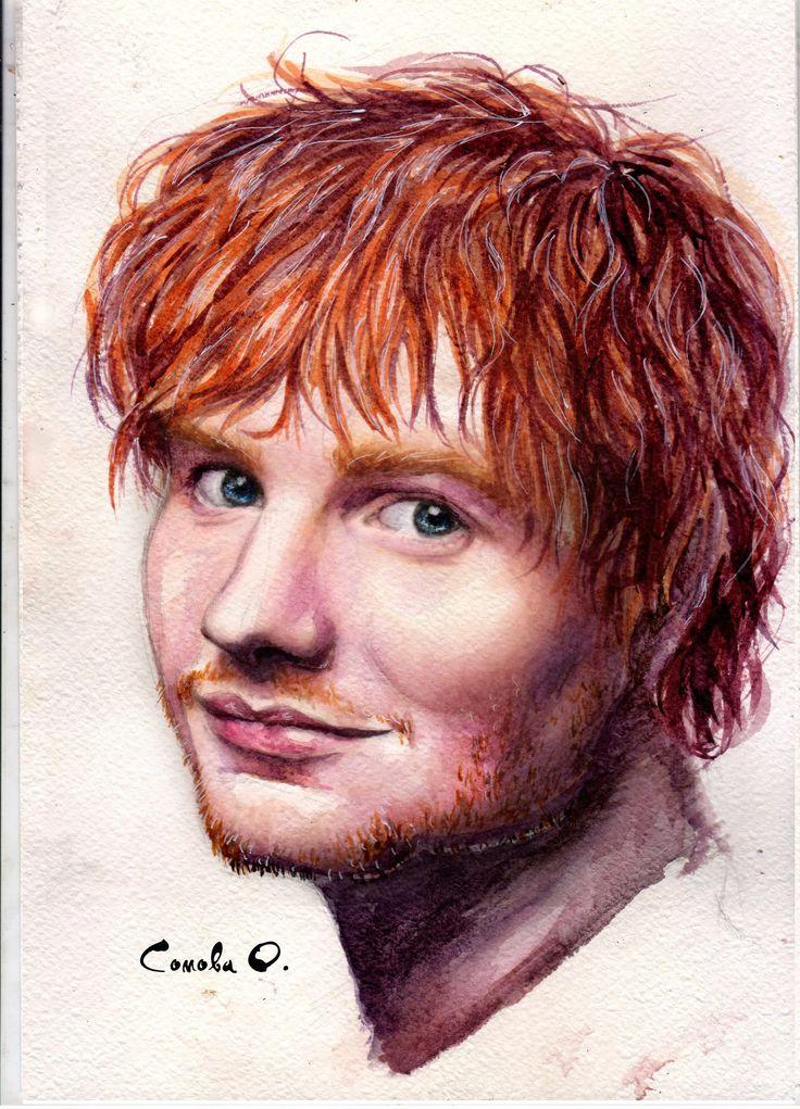 Ed Sheeran by Oksana Somova