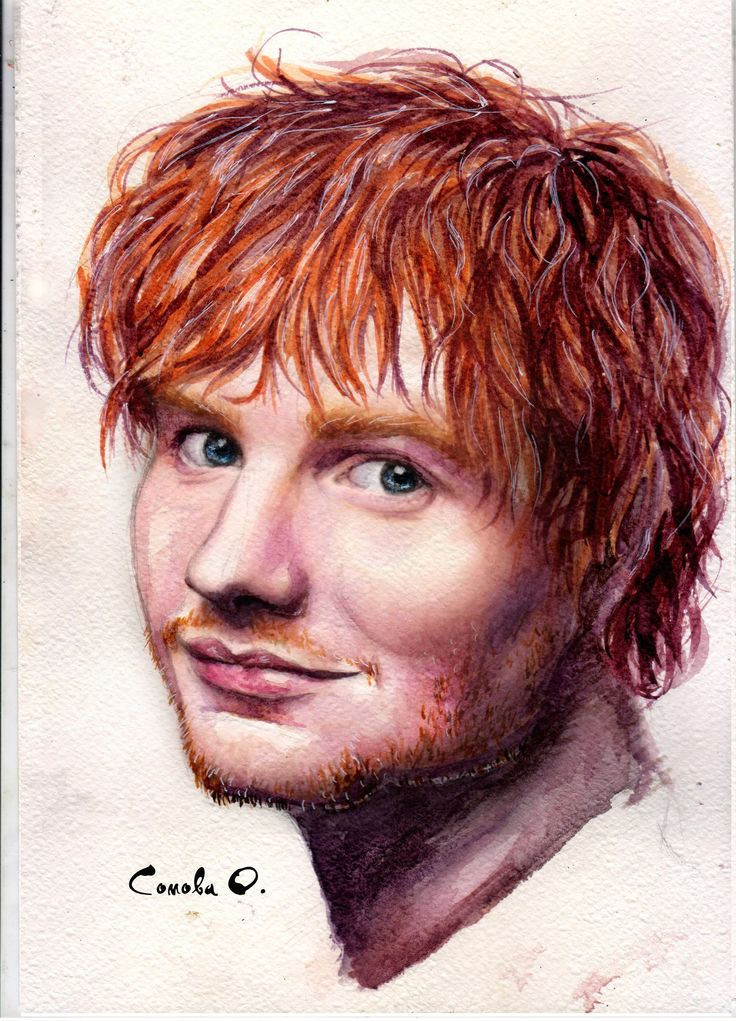 Ed Sheeran by Oksana Somova
