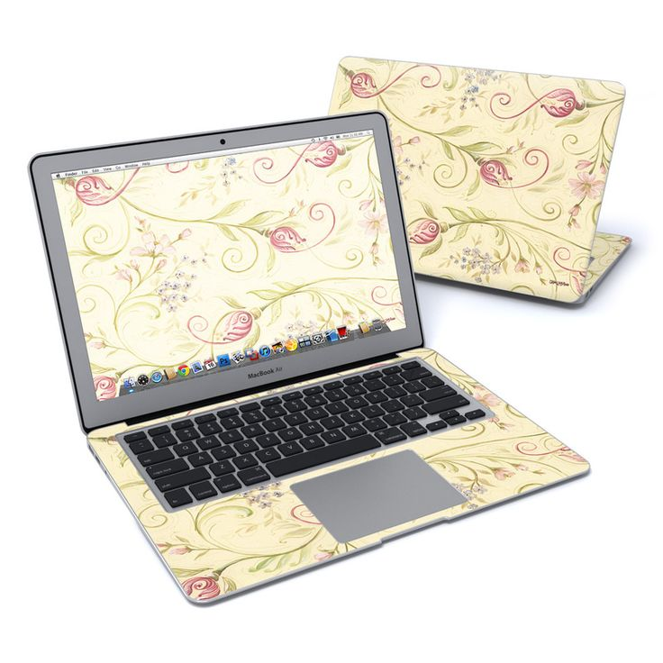 Tulip Scroll MacBook Air 13-inch Skin