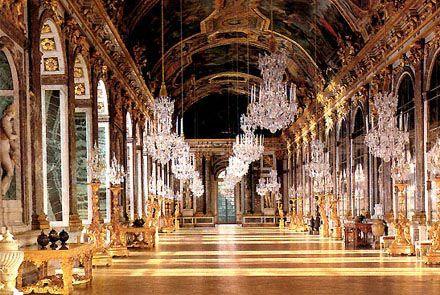 kasteel van versailles - De spiegelzaal