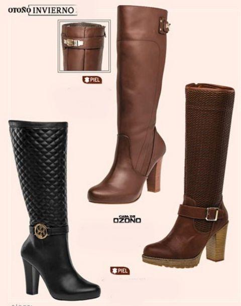 Botas Capa de Ozono. Botas largas de moda, botas de mujer, botas de moda, botas de tacon cuadrado, botas con plataforma. Venta por catalogo. Botas de pakar.