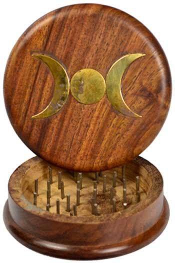 """Triple Moon Herb Grinder 3"""""""