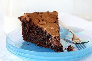 """I just posted the buttery Ooey Gooey Butter Cakea couple days ago. The recipe was so fascinating to me that I immediately had to make it in chocolate!  While I really enjoyed this chocolatey richness of this dessert, I think """"taste wise"""" the same results can be achieved by simply making"""