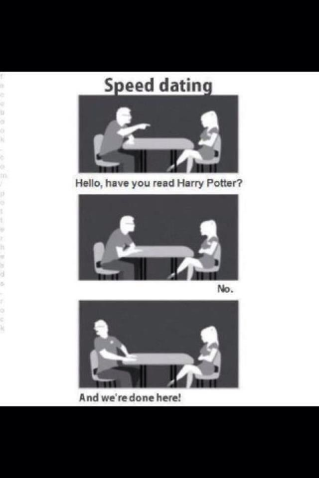 Harry speed dating