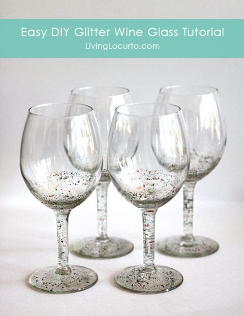49 best wine glass centerpieces images on pinterest How to make wine glasses sparkle