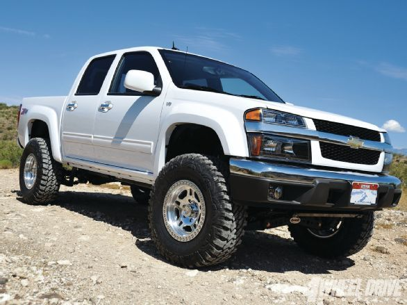 We take our new 2011 Chevy Colorado Z71 and add an ARB Air Locker, Rancho Suspension, Pro Comp Wheels and tires and more! Check it all out right here in 4 Wheel Drive Magazine!