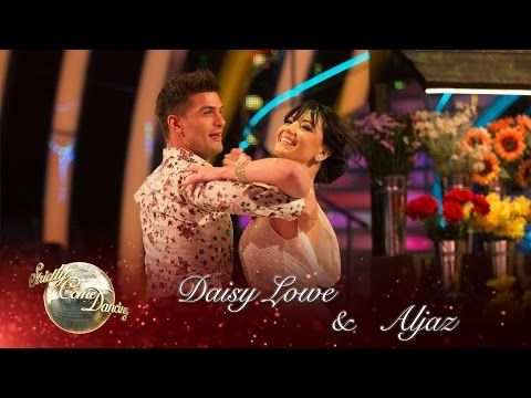 Daisy Lowe and Aljaz Skorjanec Viennese Waltz to 'Daisy Bell' by Harry Dacre - Strictly 2016: Week 7 - YouTube