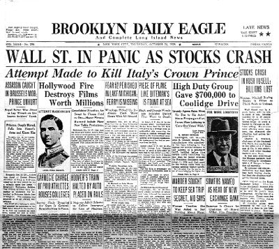 The Teen Economists: The Wall Street Crash & The Great Depression (Part I)