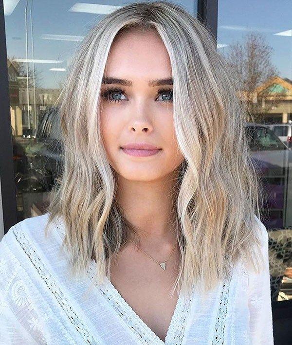New Short Blonde Hairstyles Hair Lengths Cute Medium Length