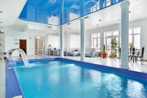 Stretched ceilings - Pools & Leisure Ireland | Swimming Pools Northern Ireland