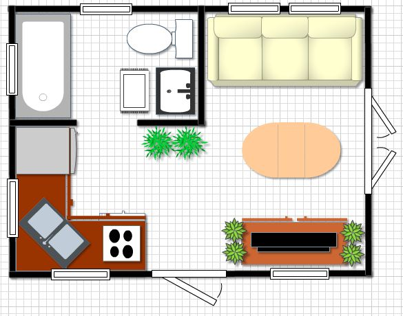 1000 images about compact spaces on pinterest living in for 12x16 kitchen plans