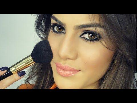 Maquiagem SEM usar Pinceis! Por Camila Coelho - YouTube