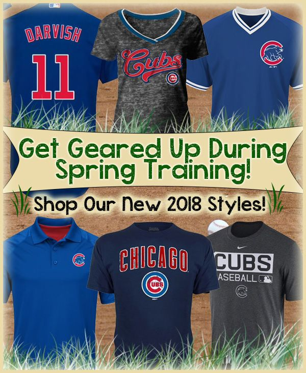 f3fb802f WOW: Chicago Cubs 2018 Apparel Arriving Daily (FREE Shipping Over $99)  #EverybodyIn #ChicagoCubs #Cubs #MLB #flythew