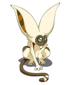 Momo is a lemur from Avatar: The Last Airbender. He is Aang's pet that Team Avatar found at the the Southern Air Temple, and has been apart of the team since.