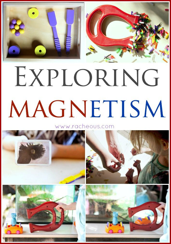 Exploring Magnetism from Racheous Lovable Learning - LOTS of wonderful, Montessori-inspired magnet activities for kids