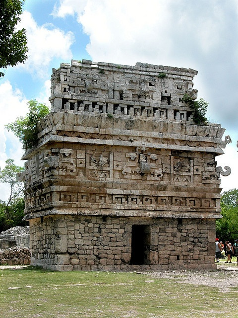 Chichen Itza, Mexico.   i took this exact same photo when I visited a few years ago.....