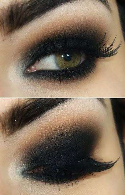 14 Overwhelming Smokey Eye Makeup Looks and Tutorials                                                                                                                                                     More