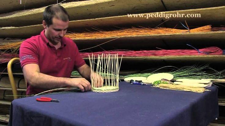 Workshop für Peddigrohrarbeiten