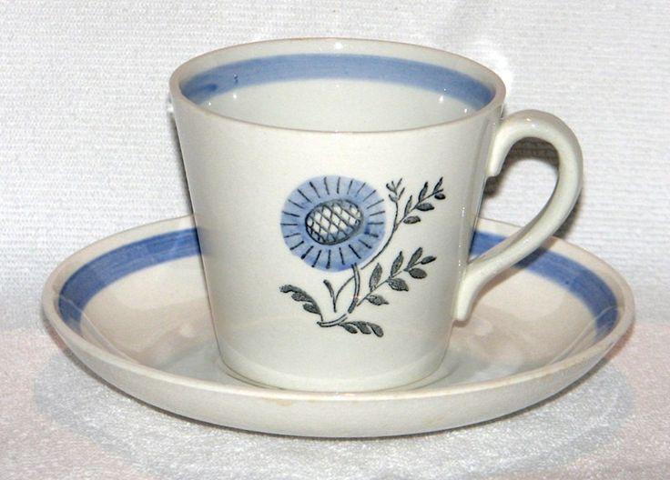 Gefle Blå Blomma kaffekopp