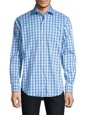 1f966b8b3593 PETER MILLAR Churchill Check Sport Shirt.  petermillar  cloth ...