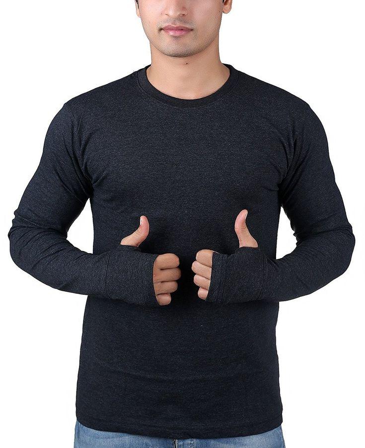 Long sleeve shirt with thumb hole