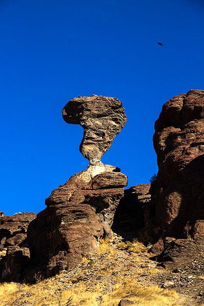 Balanced Rock in Idaho