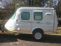Sherpa Tiny Rough Rider. So compact! #caravan #camper #holiday