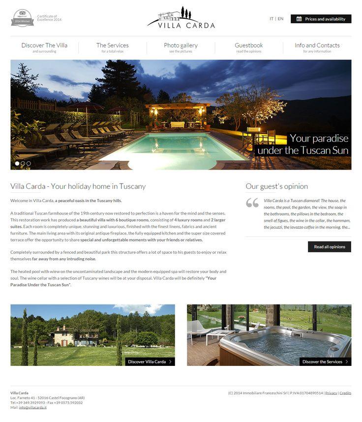 Villa Carda www.villacarda.it
