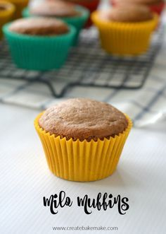 Milo Muffins Recipe -both regular and thermomix instructions included.