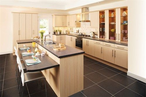 Open plan kitchen diners & built in seating areas