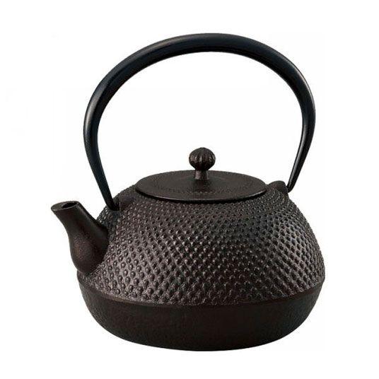 Nagano Teapot, Black, Satake