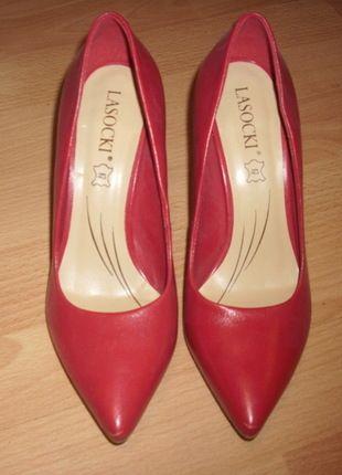 Kup mój przedmiot na #vintedpl http://www.vinted.pl/damskie-obuwie/na-wysokim-obcasie/10110956-czerwone-szpilki-szpic-rozmiar-36
