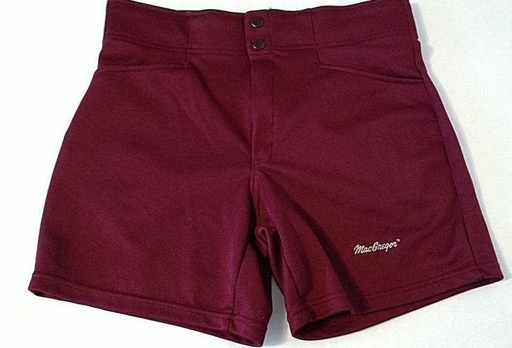 Macgregor Coaches Shorts Maroon Baseball Basketball Softball 34 MEDIUM #Macgregor #Athletic