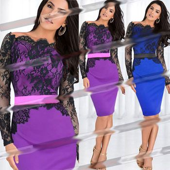 Find More Dresses Information about 2014 Woman Casual Rtrapless Full Autumn Sexy Slim Bandage Vestidos Mosaic Lace stitching Bodycon Celebrity Dresses Plus Size ,High Quality Dresses from Global Trade Direct Ltd. on Aliexpress.com