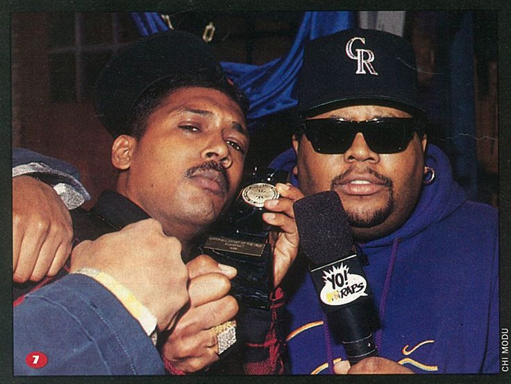 """The Source Magazine, Issue #44, May 1993. Coast II Coast. """"Dancehall king Supercat props up his Source award with Doctor Dre on the special Yo! MTV Raps."""""""