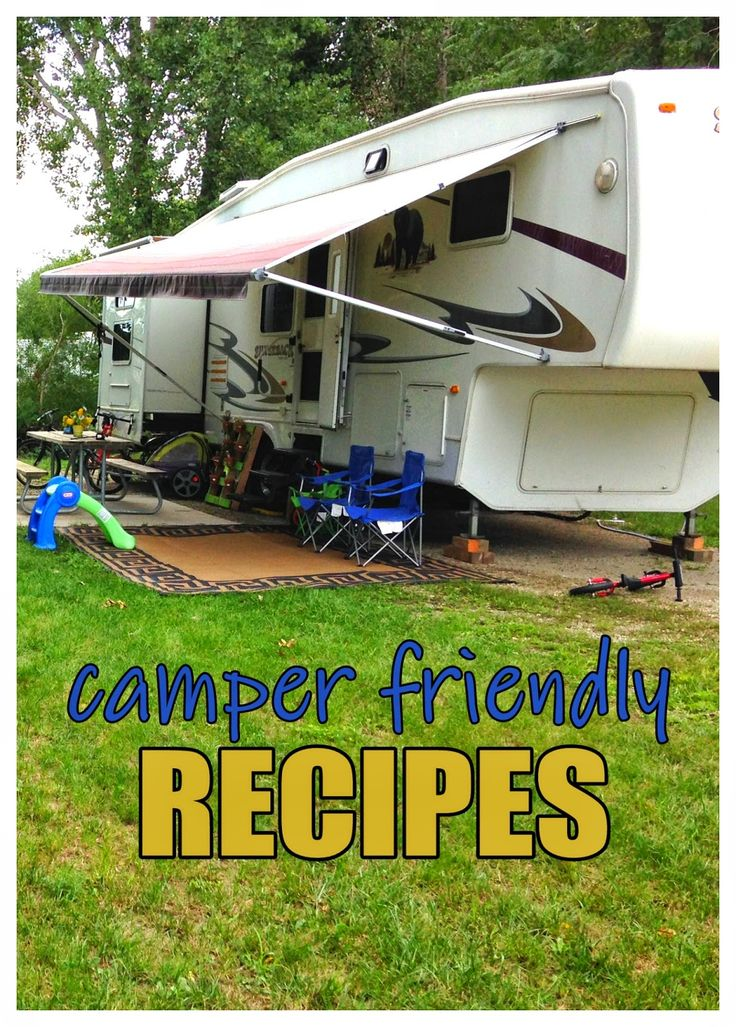 Recipes on pinterest compliments of outdoor fun and camping meals