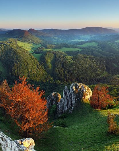 Strazovske mountains / Protected area in #Slovakia near #Trencin #hiking