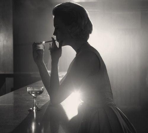 January Jones - from Mad Men.