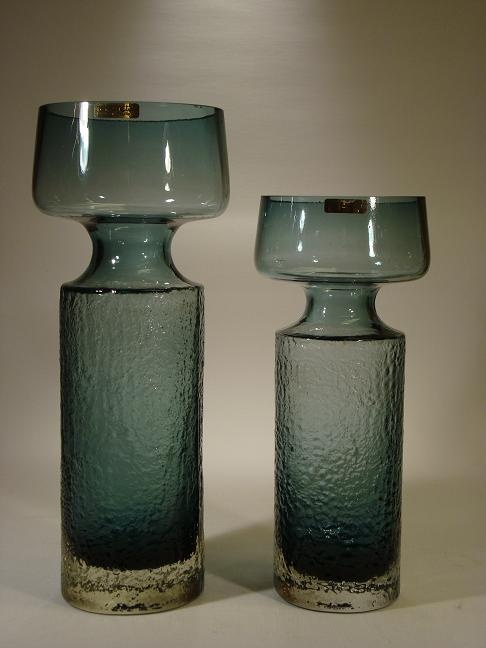 Safari vases designed by Tamara Aladin in 1972 for Riihimäen Lasi