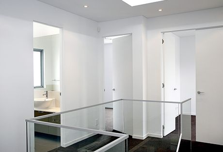 A Complete Master Bathroom Renovation Cavity Sliding
