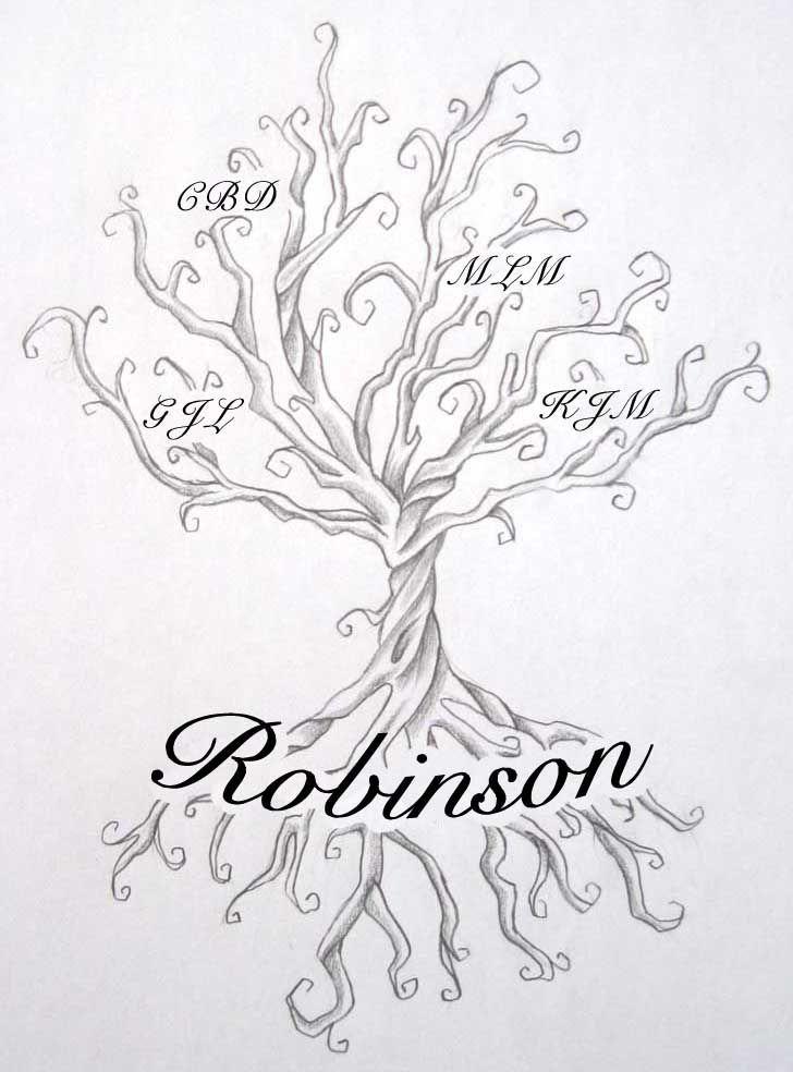 Next → · Large family tree tattoo