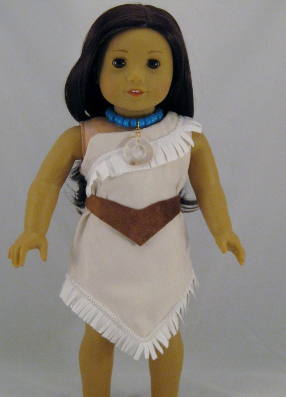 Diy Pocahontas Costume Doll Clothes Pocahonta...