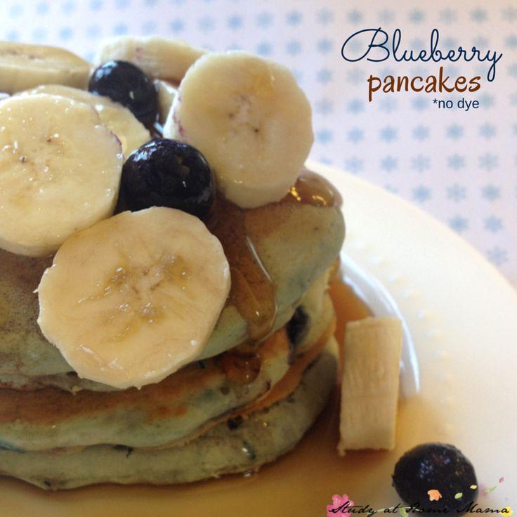 Protein Blueberry Pancakes