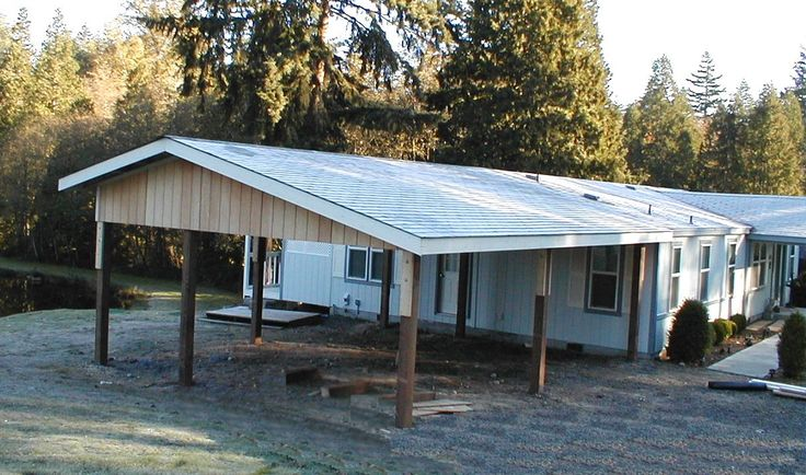 Wall Attached Carports : Best images about carport ideas on pinterest steel